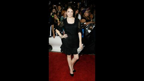 """The 2008 L.A. premiere for """"Twilight"""" was just the tip of the red carpet iceberg for a then-23-year-old Anna Kendrick. Although she had just a handful of credits to her name, she was about to get a grand introduction the following year with an Oscar nod for """"Up in the Air."""""""