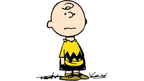 """There's a new """"Peanuts"""" movie coming up, and Charlie Brown is as popular as always. If you're bald, this one is a slam dunk. Get crafty and cut out black felt or construction paper in a zigzag shape and staple it to your brightest yellow shirt. Slip on black shorts and brown shoes -- and maybe carry a tangled kite -- to be the most loveable sad sack at the party."""