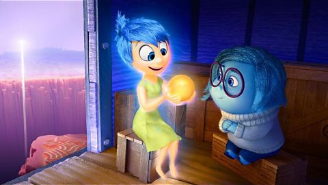"""<strong>Best animated feature:</strong> """"Inside Out,"""" pictured, """"Anomalisa,"""" """"Boy and the World,"""" """"Shaun the Sheep Movie"""" and """"When Marnie Was There."""""""