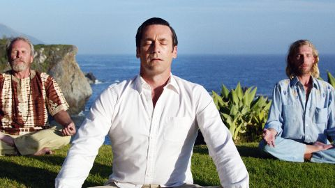 """The final episode of """"Mad Men"""" showed us a side of Don Draper we had not seen before: a relaxed, meditative Don on the verge of a creative breakthrough. This one's easy if you have khakis and a white button-up made of linen or oxford. You may still want to carry whiskey and cigarettes to make it clear who you are. Just work on your """"om."""""""