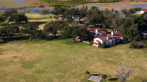 There are more than 100 different properties that cover the estate, which itself is half-a-million acres in size.