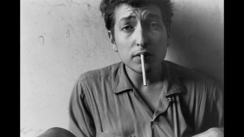 """That first record, 1962's """"Bob Dylan,"""" didn't sell much, but the young performer was already earning a reputation among musicians as a powerful talent. Dylan soaked up the hothouse atmosphere, learning classics and reshaping them in his image -- an image he was always aware of, even in the early days."""