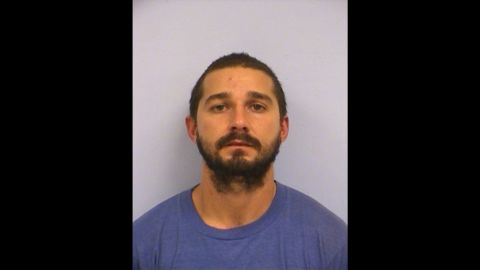 """In his latest run-in with the law, actor Shia LaBeouf <a href=""""http://www.cnn.com/2015/10/10/entertainment/shia-labeouf-arrested/index.html"""">was arrested</a> in Austin, Texas, on October 9 on charges of public intoxication."""