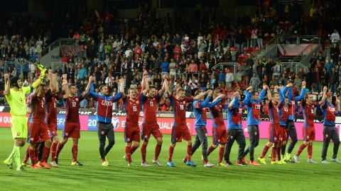 The Czech Republic, which topped Iceland's group, has qualified for every Euro tournament since 1996 -- where it lost 2-1 in the final to Germany at Wembley Stadium.