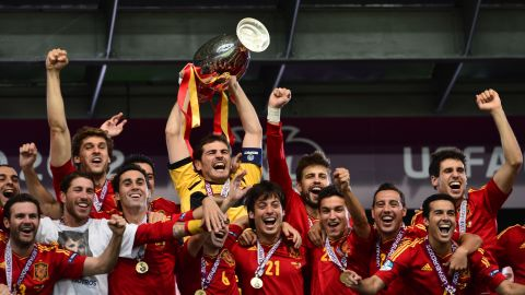 Spain is looking to win an unprecedented third European title in a row, having won the competition in 2008 and 2012. The 2010 World Cup winners topped Group C with ease -- winning nine games in row.