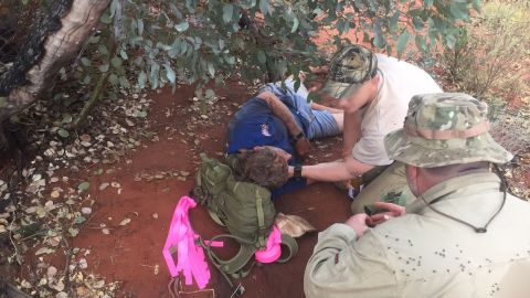 Reginald Foggerdy, 62, survived six days without water in a huge Australian desert by eating black ants.