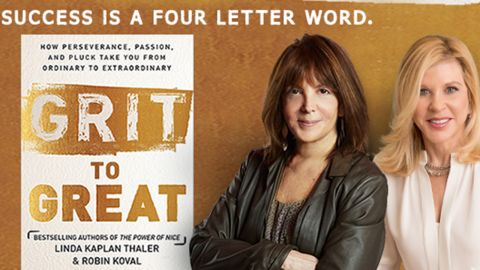 """Linda Kaplan Thaler and Robin Koval are co-authors of """"Grit to Great."""""""