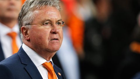 Hiddink returned for a second spell as national team manager after coaching the Netherlands between 1995 and 1998. But he lasted just 10 months. The Dutch were beaten by Iceland and the Czech Republic during his time in charge.
