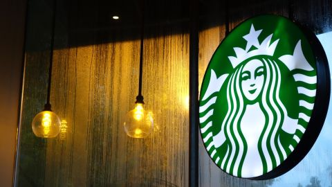 """One Starbucks in Riyadh, Saudi Arabia, had a sign with the phrase, """"Please no entrance for ladies."""""""