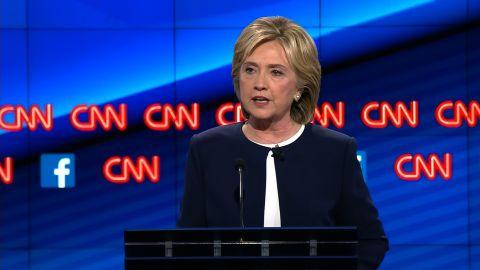 Hillary Clinton Democratic Debate putin answer