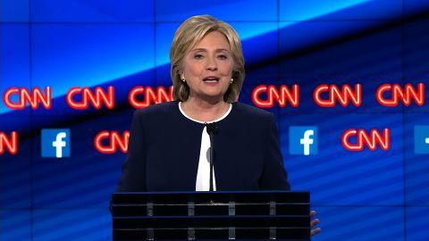 hillary clinton democratic debate benghazi answer