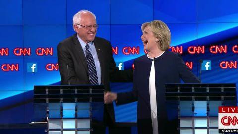 bernie sanders democratic debate sick of hearing about hillary clinton emails 19_00005521.jpg