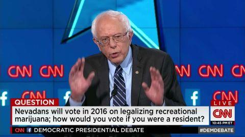 bernie sanders democratic debate legalizing marijuana 25_00005219.jpg