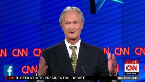 lincoln chafee democratic debate glass steagall vote 31_00001013.jpg