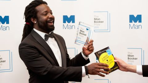 """Author Marlon James was named winner of The 2015 Man Booker Prize for """"A Brief History of Seven Killings."""""""