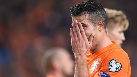 Its team was beaten 3-2 at home by the Czech Republic with Robin van Persie scoring at both ends of the field. The forward netted an own-goal to leave his side trailing 3-0 with 24 minutes remaining. He did atone for his error, scoring in the right net but it wasn't enough as the Dutch fell short.