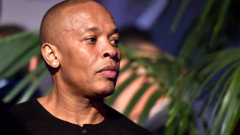 """Rapper Dr. Dre was named <a href=""""http://www.bet.com/shows/hip-hop-awards/2015/nominees/hustler-of-the-year.html"""" target=""""_blank"""" target=""""_blank"""">hustler of the year</a> for his success with the Beats headphone line and musical biopic """"Straight Outta Compton."""""""