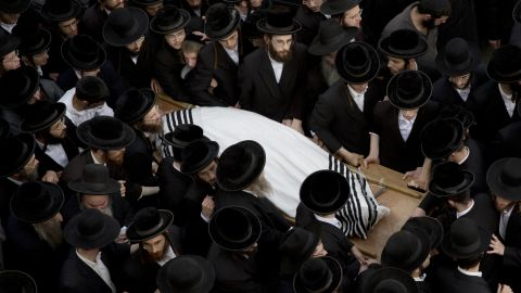 Kirshavski's funeral continues on October 13.