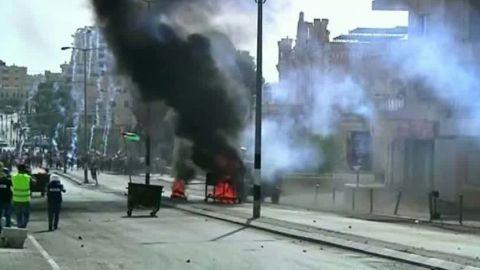 israel violence rises police spokesman micky rosenfeld intv tsr_00000000.jpg