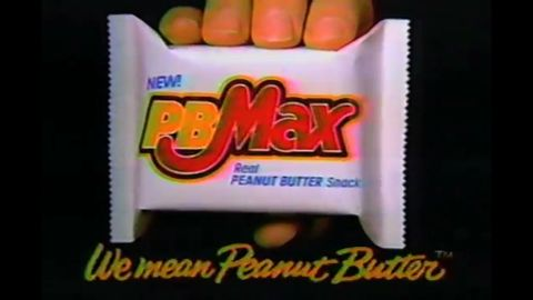 """PB Max was peanut butter to the max: The chocolate-covered bar also included oats and a cookie along with peanut butter. But the bar, introduced around 1990, was gone within a few years. These days,<a href=""""https://www.facebook.com/RestorePbMaxToItsFormerGlory"""" target=""""_blank"""" target=""""_blank""""> there's an active Facebook page</a> devoted to bringing it back."""