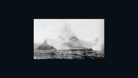U.S. Coast Guard file photo of iceberg believed to have sunk the Titanic