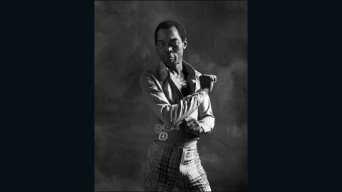 """<a href=""""http://fela.net/about/fela-obituary/"""" target=""""_blank"""" target=""""_blank"""">Fela Kuti</a> is widely regarded as the pioneer of Afrobeat. Born in Nigeria in 1938, he sang throughout the sixties and seventies with his band Africa '70."""