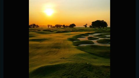 """""""The Pete Dye clubhouse is blessed with a magnificent sunrise,"""" the club says on its website. """"While the Jack Nicklaus Clubhouse enjoys stunning sunsets."""" Based on <a href=""""https://instagram.com/jakew843/"""" target=""""_blank"""" target=""""_blank"""">@jakew843</a>'s shot, they certainly have a point."""
