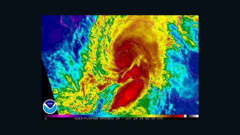 Hurricane Patricia NOAA rainbow 2315