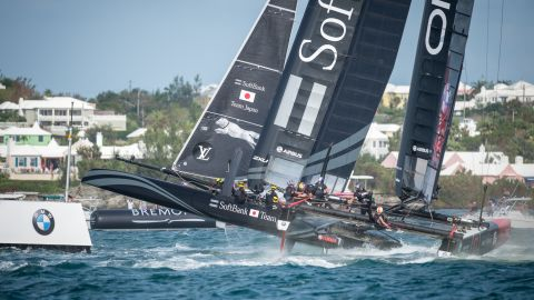 CNN's MainSail show visited Bermuda in October 2015 for the island's first staging of an America's Cup World Series event.