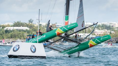 """The """"Super Sunday"""" proved to be even more crucial, with extra points on offer due to racing on day one having to be canceled early because of a lack of wind."""