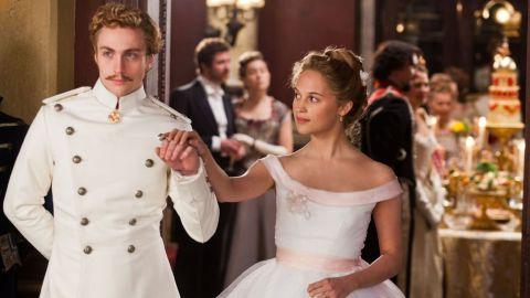 "<strong>""Anna Karenina""</strong>: Aaron Taylor-Johnson and Alicia Vikander co-star in this romantic drama. <strong>(Netflix) </strong>"