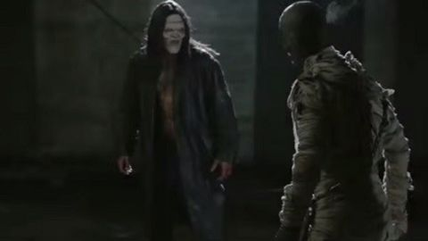 """<strong>""""Frankenstein vs. The Mummy""""</strong>: The two monsters face off. <strong>(Hulu) </strong>"""