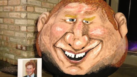 """Prince Harry <a href=""""http://www.cnn.com/2012/08/22/showbiz/prince-harry-photos/"""">made headlines</a> after naked photos of his highness surfaced from his August 2012 trip to Las Vegas. Naughty Prince Harry turned into a pumpkin that year."""