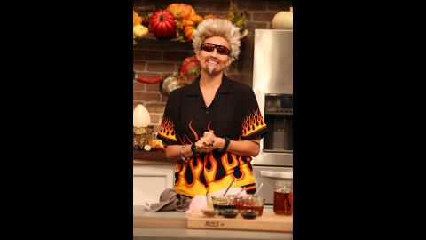 """Chrissy Teigen rode the bus to flavortown and killed it as TV chef Guy Fieri on ABC's """"FABLife."""""""