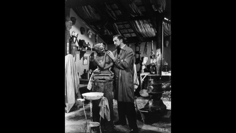 """""""House of Wax,"""" from 1953, was the first color 3-D film from a major studio. It became one of the highest-grossing films of the year. Vincent Price stars as a sculptor who populates his wax museum with corpses."""