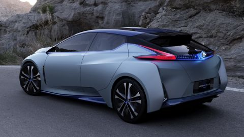 Nissan believes the IDS' fully autonomous technology should be ready by 2020.