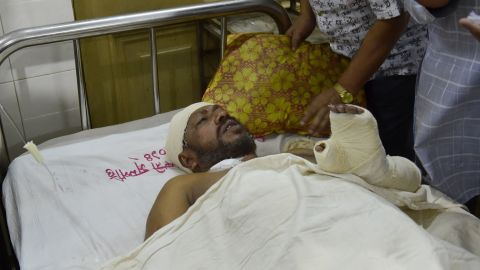Writer Ranadipam Basuis was one of three people who were severely wounded in two separate attacks against secular writers and publishers.