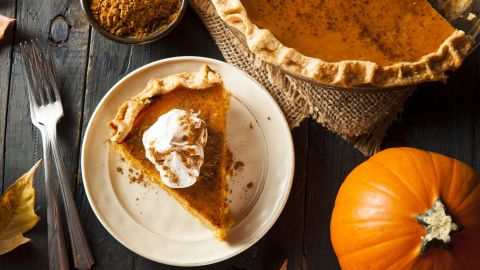 Before you head back for seconds, make sure that pumpkin pie -- or any other pie with an egg-based filling -- hasn't sat out for more than two hours. If it's been sitting there longer, it may start to grow bacteria. Instead of leaving it out on the table, loosely wrap in foil or plastic wrap and put in the fridge. It will keep for three to four days. And that goes for store-bought pies, too. Once you cut into a store-bought pie, you need to store it in the fridge.