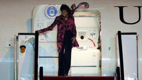 Obama arrives in Doha on Monday, November 2.
