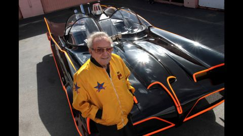 """<a href=""""http://www.cnn.com/2015/11/05/entertainment/george-barris-custom-cars-batmobile-dies/index.html"""" target=""""_blank"""">George Barris</a>, the Batmobile creator whose talent for turning Detroit iron into decked-out automotive fantasies earned him the nickname """"King of the Kustomizers,"""" died on November 5. He was 89."""