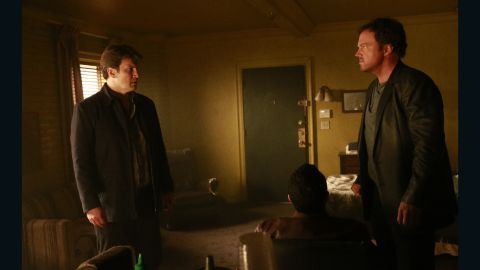 "Nathan Fillion's ""Firefly"" co-star Adam Baldwin returns Monday night at 10 p.m."