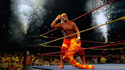 """On July 23, the WWE terminated its contract with legendary wrestler <a href=""""http://www.cnn.com/2015/07/24/entertainment/hulk-hogan-wwe-apology-racism-feat/"""" target=""""_blank"""">Hulk Hogan</a> after the National Enquirer released a transcript of statements he made that included racial slurs. The remarks were recorded in an """"unauthorized sex tape,"""" according to the Enquirer, and included the N-word in reference to the dating life of his daughter, Brooke. Hogan apologized for the offensive language."""