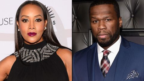 """Actress Vivica A. Fox set it off  when she appeared on Bravo's """"Watch What Happens Live"""" and implied to host Andy Cohen that her former love interest 50 Cent might be gay. She went on to say that he's not but that some of his actions gave her pause. The rapper responded with a few profane <a href=""""https://instagram.com/50cent/"""" target=""""_blank"""" target=""""_blank"""">Instagram posts. </a>"""