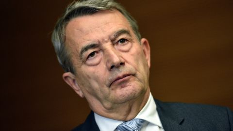 """Wolfgang Niersbach announces his resignation as German Football Federation president, taking """"political responsibility"""" for accusations of bribery involving the country's bid to stage the 2006 World Cup."""