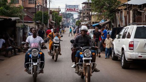 Transparency International found that 41% of public service users in Sierra Leone had to pay someone off in the last year.