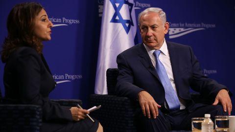 Israeli Prime Minister Benjamin Netanyahu in Washington in 2015