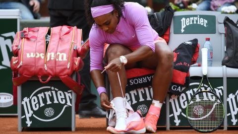 """Serena Williams has a particular way she <a href=""""http://bleacherreport.com/articles/1118208-5-greatest-routines-and-superstitions-in-tennis/page/3"""" target=""""_blank"""" target=""""_blank"""">ties her athletic shoes </a>before each tennis match. The Grand Slam winner could be on to something."""