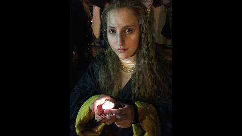"""""""I came here to show my respect and reflect on this tragedy,"""" 18-year-old Rosabrunetto said at the Place de la Republique square. """"I hope all the Islamaphobia ends in this country. ... Everyone deserves some dignity."""""""