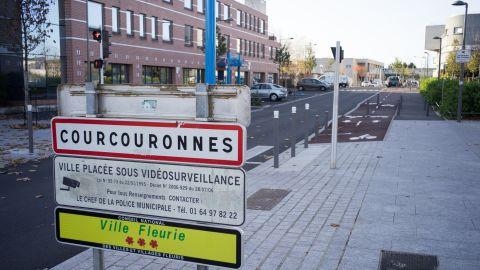 Courcouronnes, the neighborhood in Paris' banlieue, or suburbs, where suicide bomber Mostefai was born.