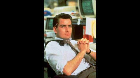 """Sheen and Stone teamed up again in 1987 with """"Wall Street,"""" in which Sheen played an up-and-coming broker seduced by Michael Douglas' Gordon Gekko. Douglas' performance won an Oscar, and Sheen's own stock went up."""